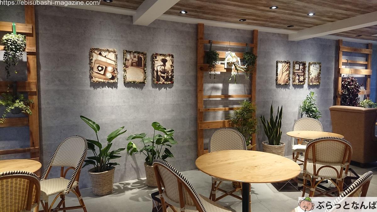 嵜本ベーカリーカフェ3階カフェスペース