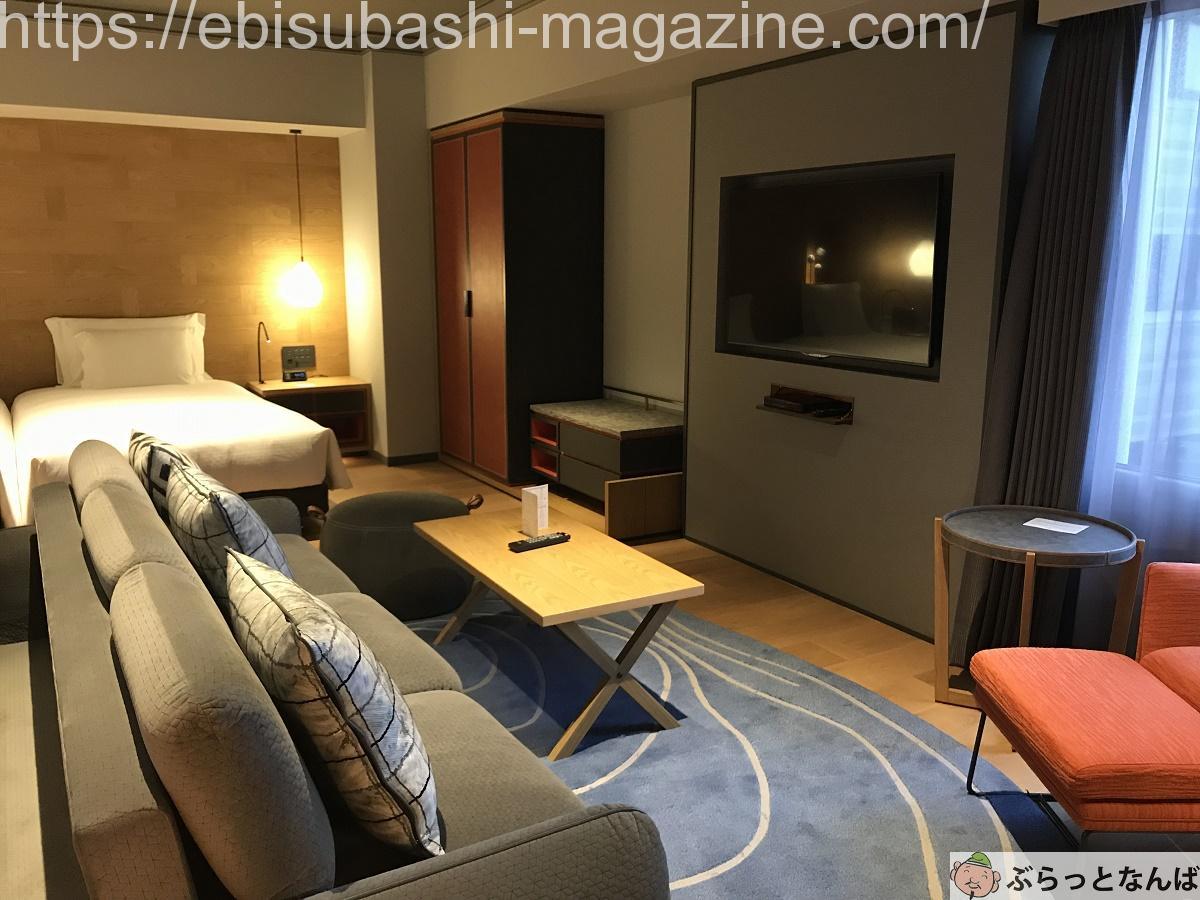 スイスホテル南海大阪 客室
