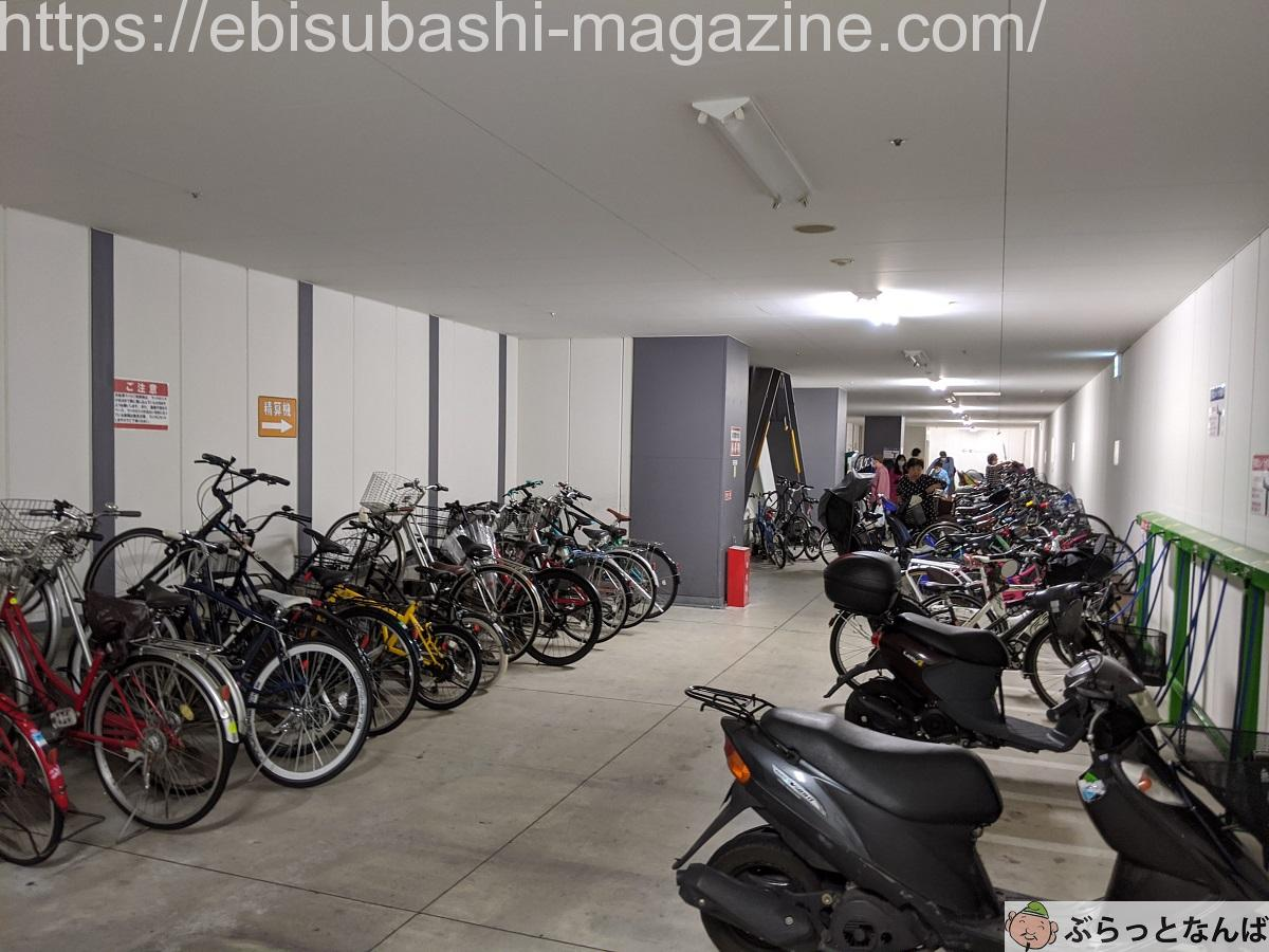 髙島屋駐輪場
