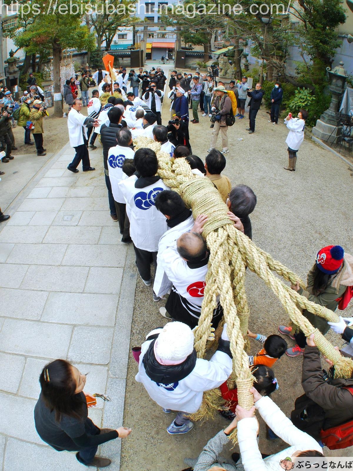 難波八阪神社 祭事